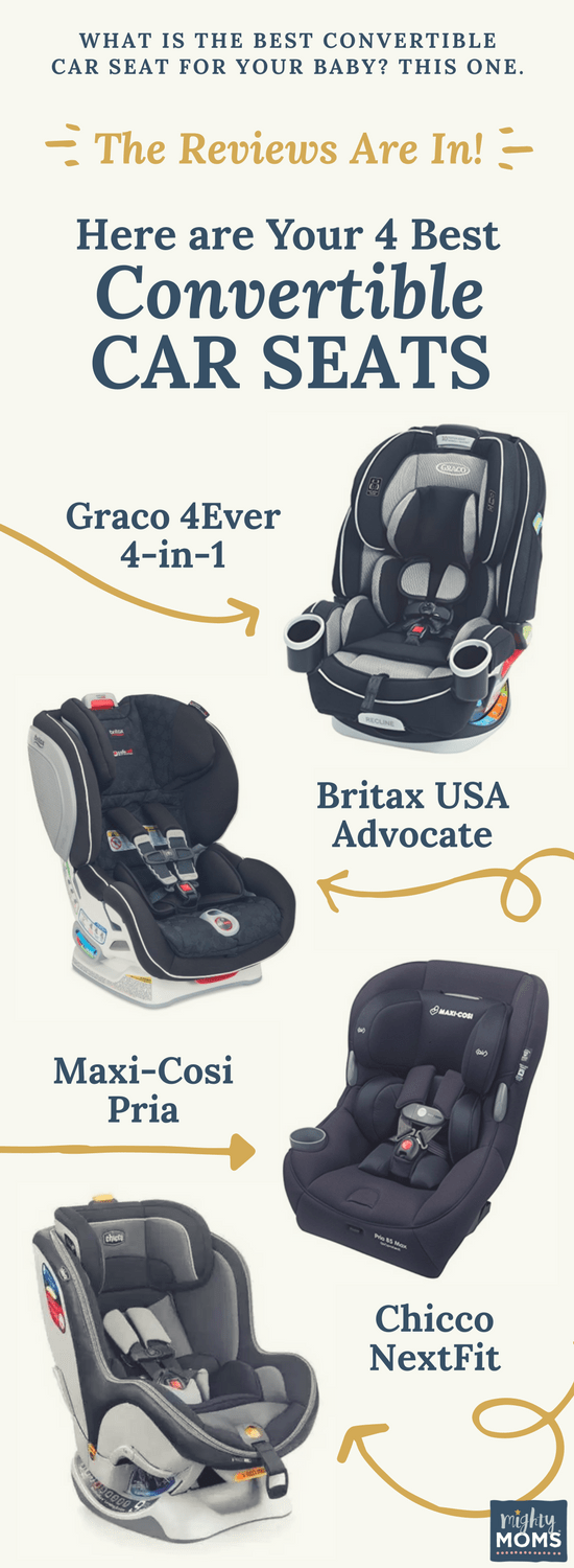 Which Convertible Car Seat is Best For My Baby and My Vehicle? • The ...