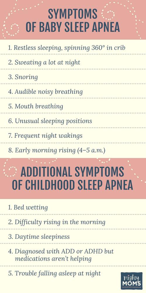 Does Your Baby Have Sleep Apnea? MightyMoms.club