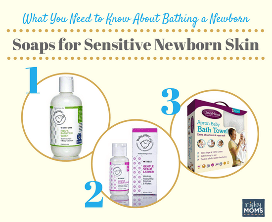 What You Need To Know About Bathing A Newborn Mightymoms