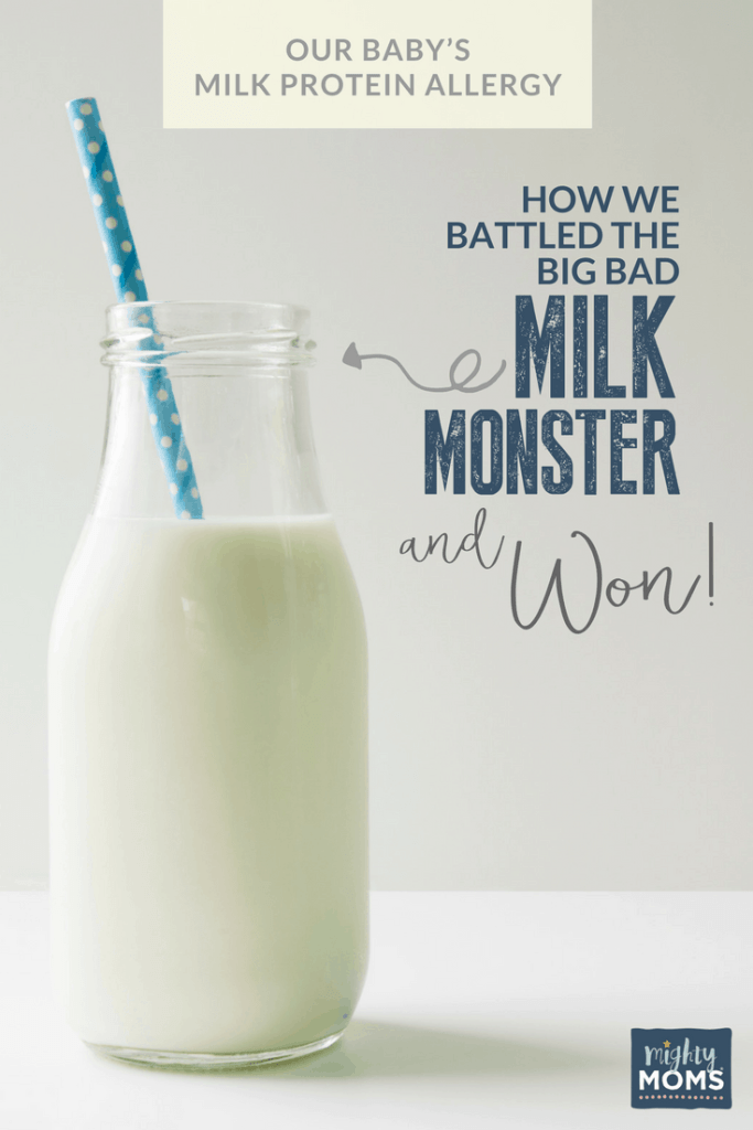 Our Baby's Milk Protein Allergy: How We Battled the Milk Monster and Won - MightyMoms.club