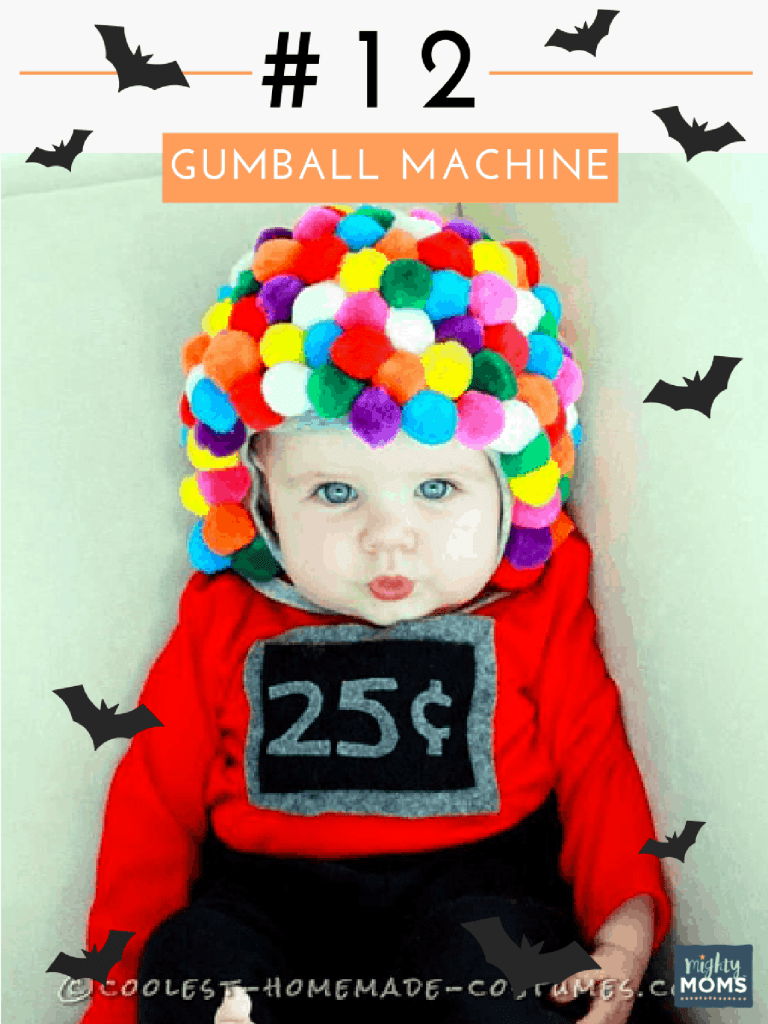 "23 parents nailing the ""homemade baby costume"" thing"