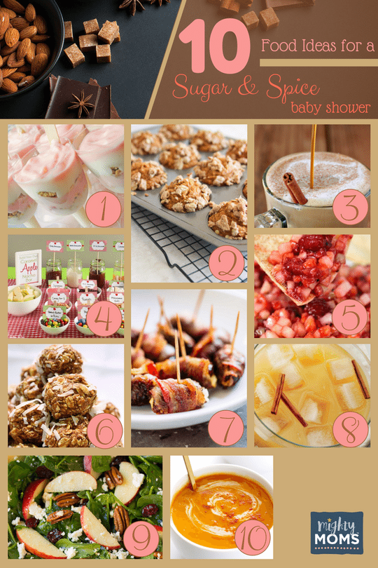 36 Sweet Ideas For A Sugar And Spice Baby Shower