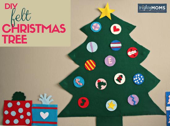 A DIY Baby-Friendly Felt Christmas Tree ~ MightyMoms.club