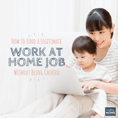 How to Find a Legitimate Work at Home Job Without Being Cheated
