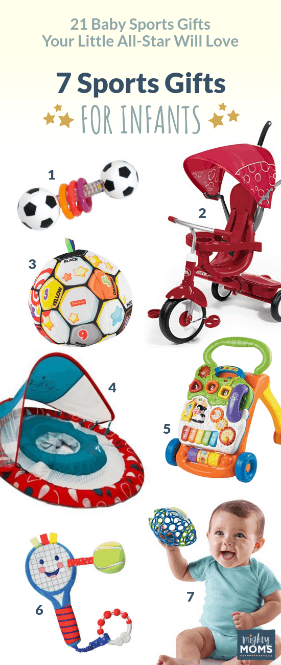 Baby Sports gifts for under 1 year - MightyMoms.club