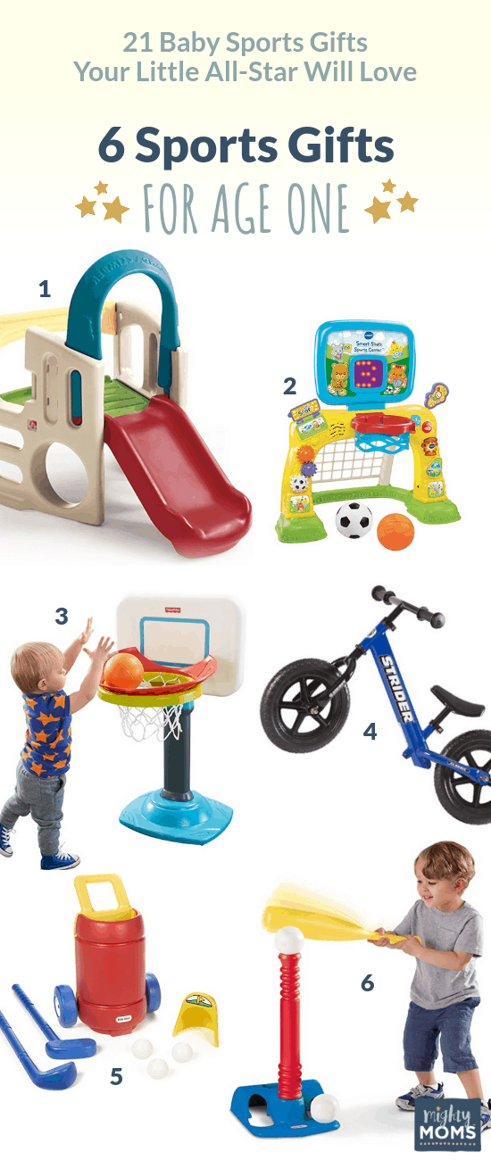 Baby Sports gifts for 1-2 Years - MightyMoms.club