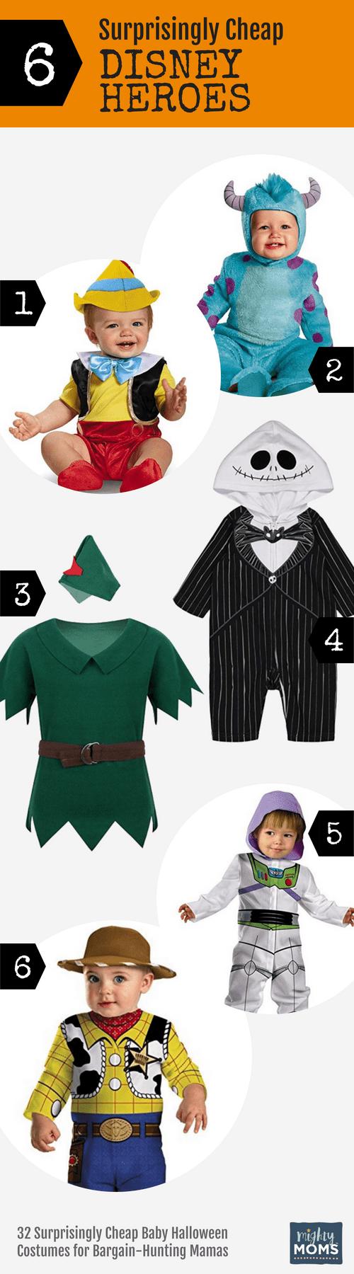 Cheap Disney Hero Baby Halloween Costumes - MightyMoms.club