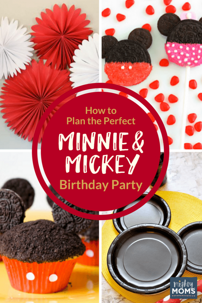 How to Plan the Perfect Minnie & Mickey Birthday Party - MightyMoms.club