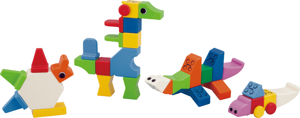 Magnetic Toddler Blocks