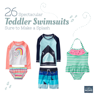 26 Spectacular Toddler Swimsuits Sure to Make a Splash