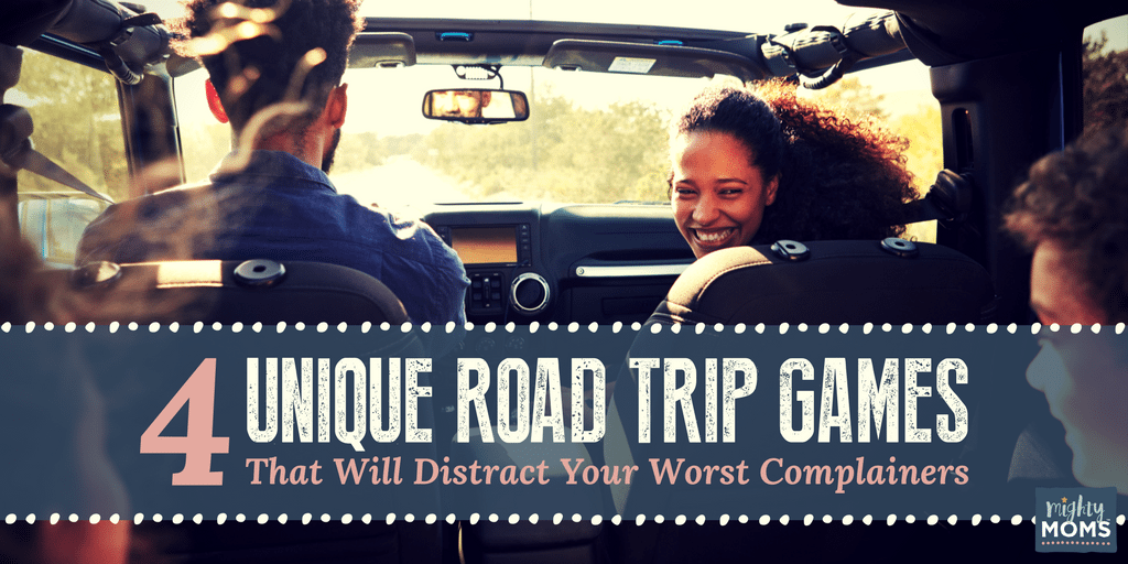 4 Unique Road Trip Games That Will Distract Your Worst Complainers - MightyMoms.club