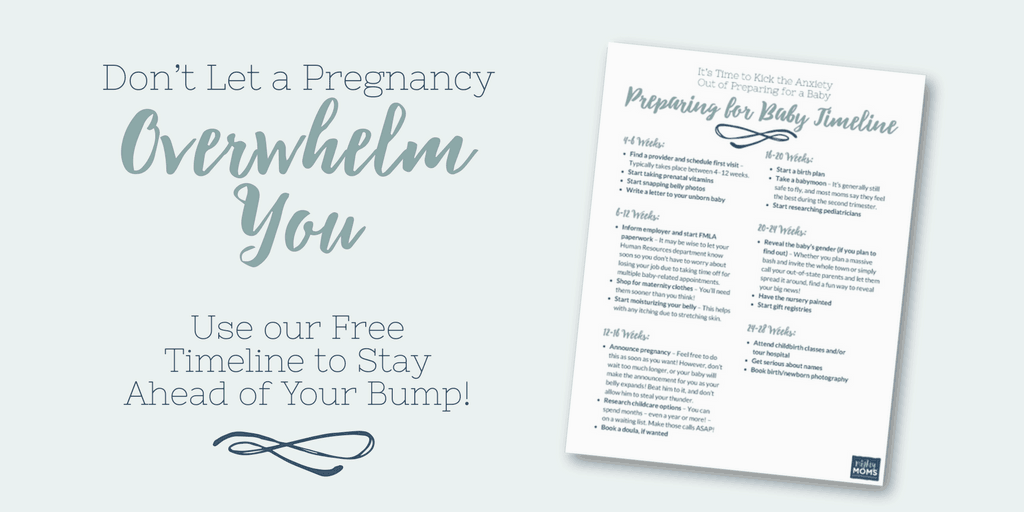 Use this free checklist to help you prepare for the huge life change ahead! - MightyMoms.club