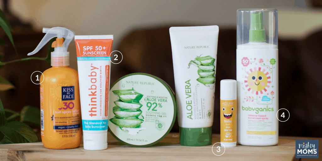 Finally, a safe infant sunscreen! MightyMoms.club