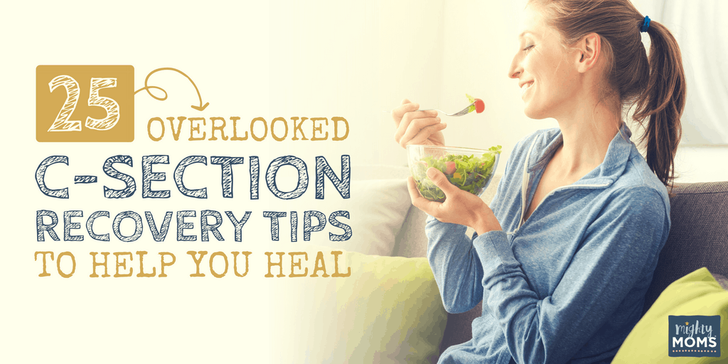 25 Overlooked C-Section Recovery Tips to Help You Heal - MightyMoms.club
