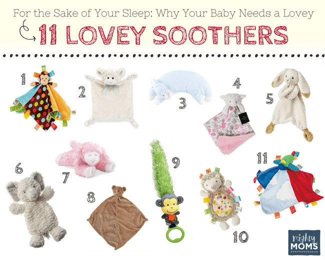 Looking for the Perfect Baby Lovey? Try These! - MightyMoms.club