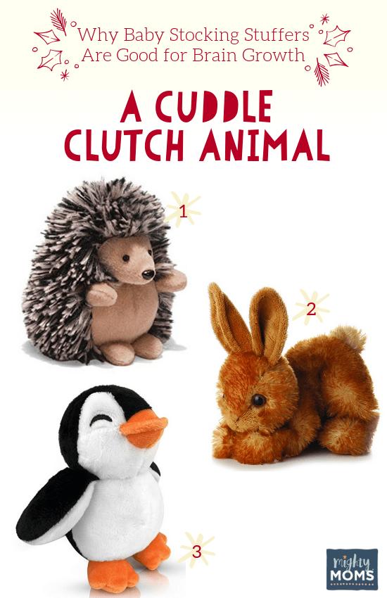 Smart Baby Stocking Stuffers: A Cuddle Friend - MightyMoms.club