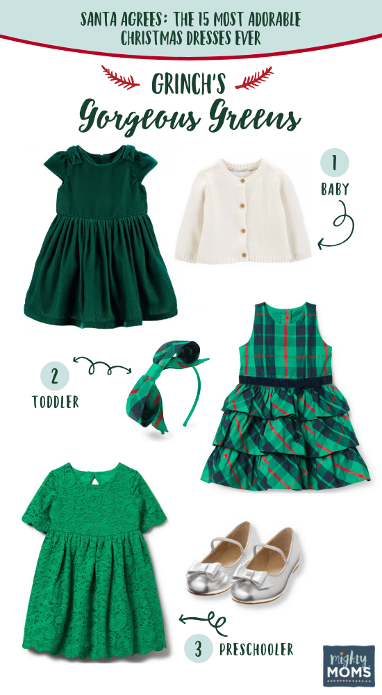 Grinch's Favorite Christmas Dresses for Kids - MightyMoms.club