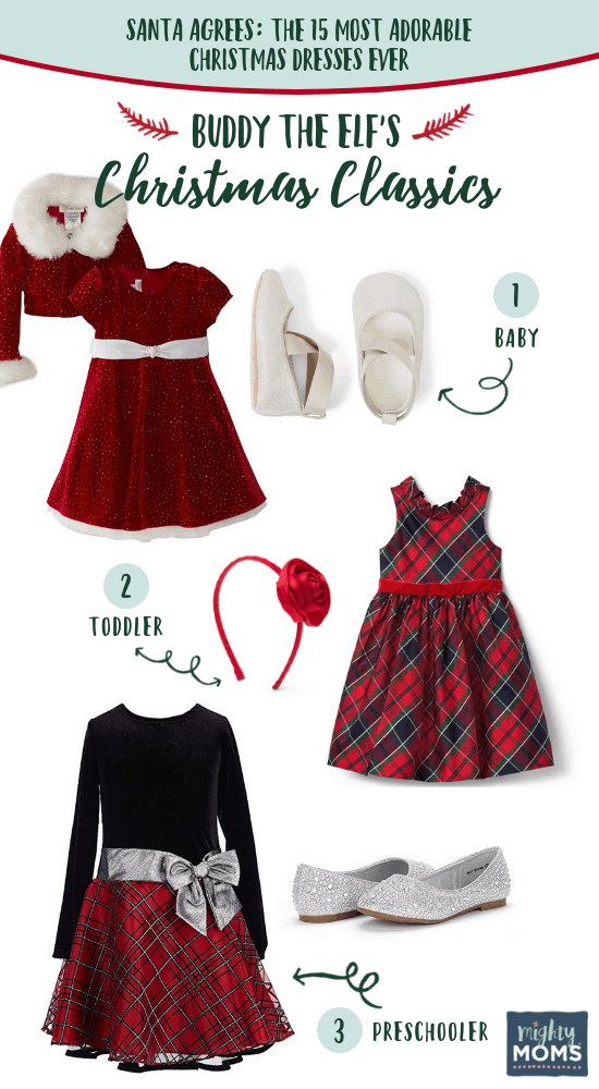 Buddy the Elf's Best Christmas Dresses for Kids - MightyMoms.club