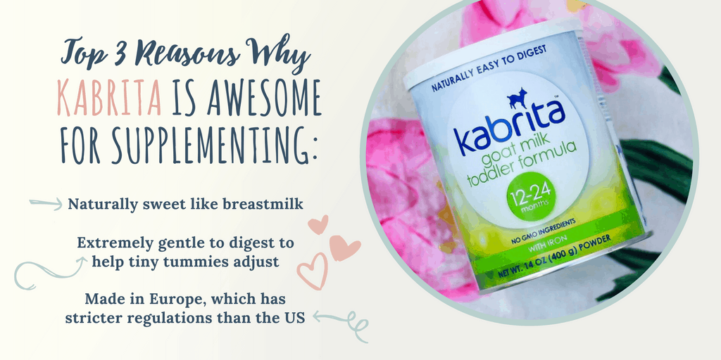 3 Reasons Why Kabrita is Awesome for Supplementing