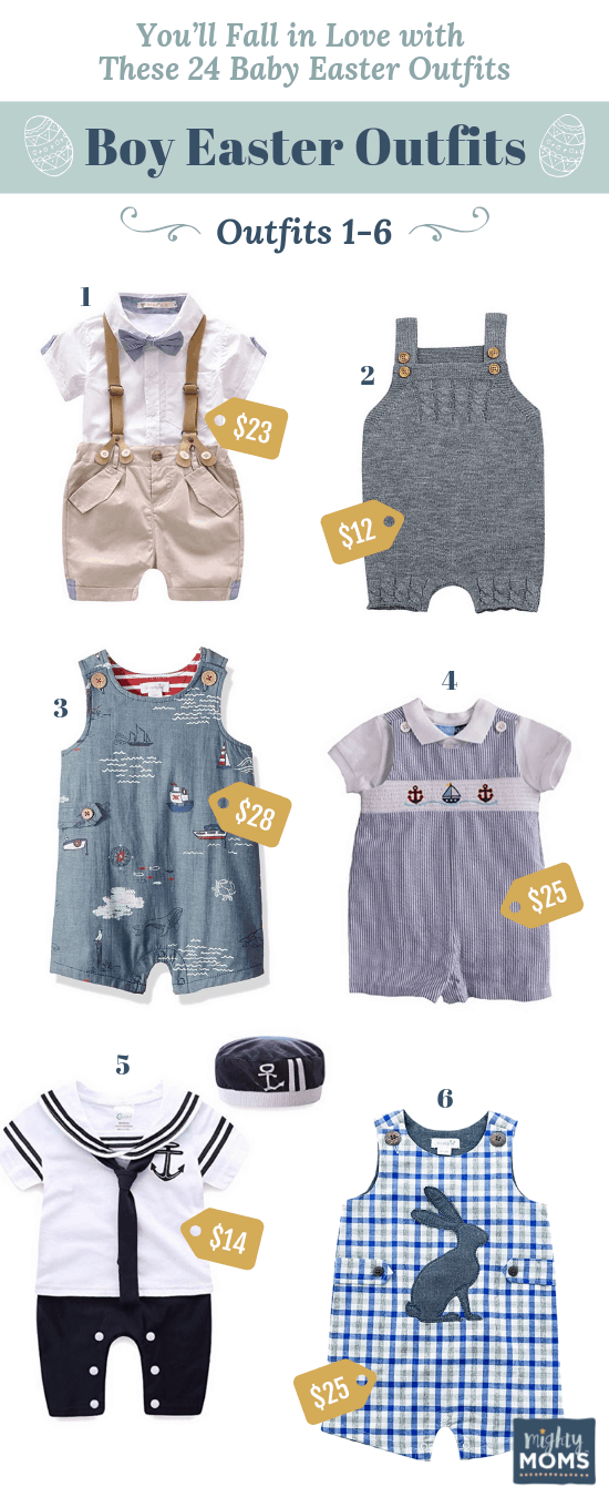 Charming Baby Easter Outfits for Boys - MightyMoms.club
