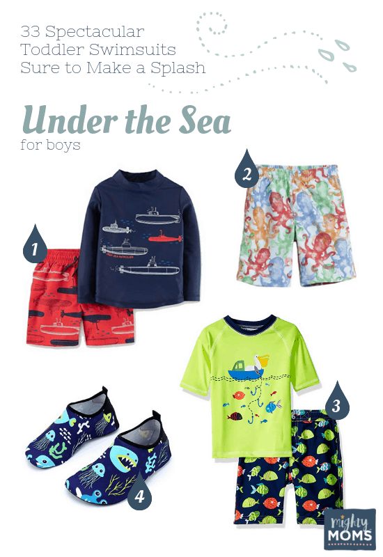 Spectacular Toddler Swimsuits: Under the Sea - MightyMoms.club