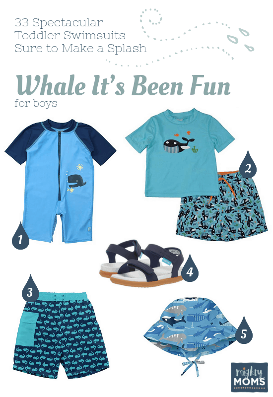 Spectacular Toddler Swimsuits: Whale It's Been Fun - MightyMoms.club