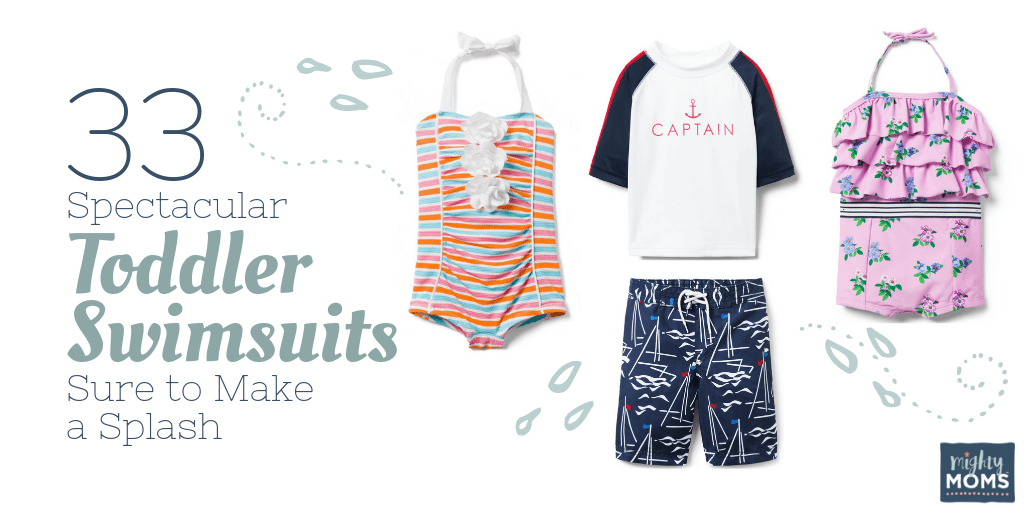 Toddler swimsuits that take adorable to a new level - MightyMoms.club