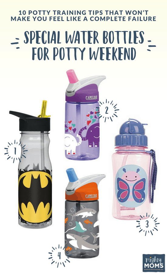 Potty Training Tips: Defeat Dehydration with Clever Water Bottles - Mightymoms.club