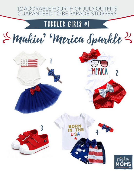 Fourth of July Outfits for Toddler Girls #1 - MightyMoms.club