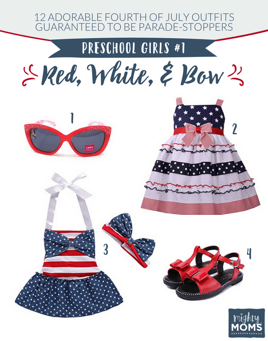 Fourth of July Outfits for Little Girls #1 - MightyMoms.club