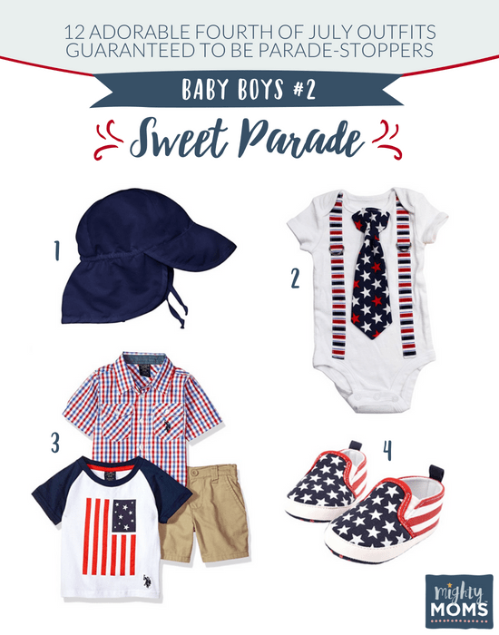 Fourth of July Outfits for Baby Boys #2 - MightyMoms.club