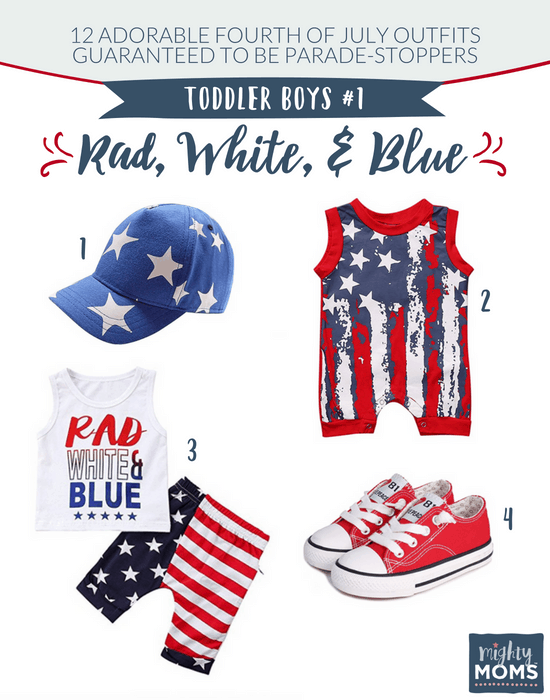 Fourth of July Outfits for Toddler Boys #1 - MightyMoms.club