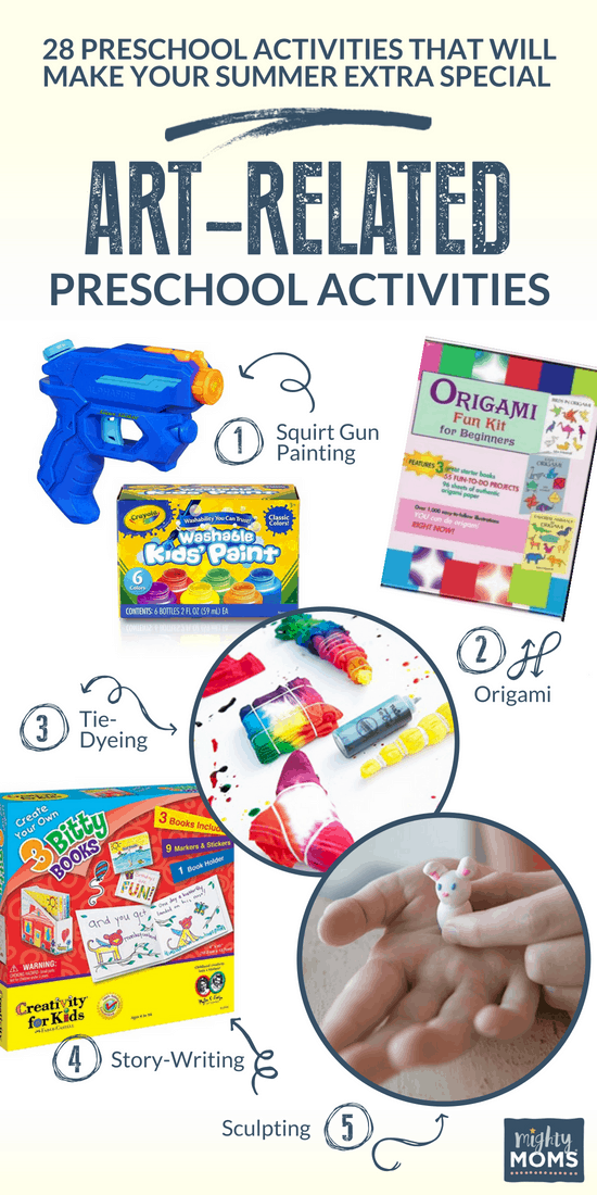 Artful Summer Preschool Activities - MightyMoms.club