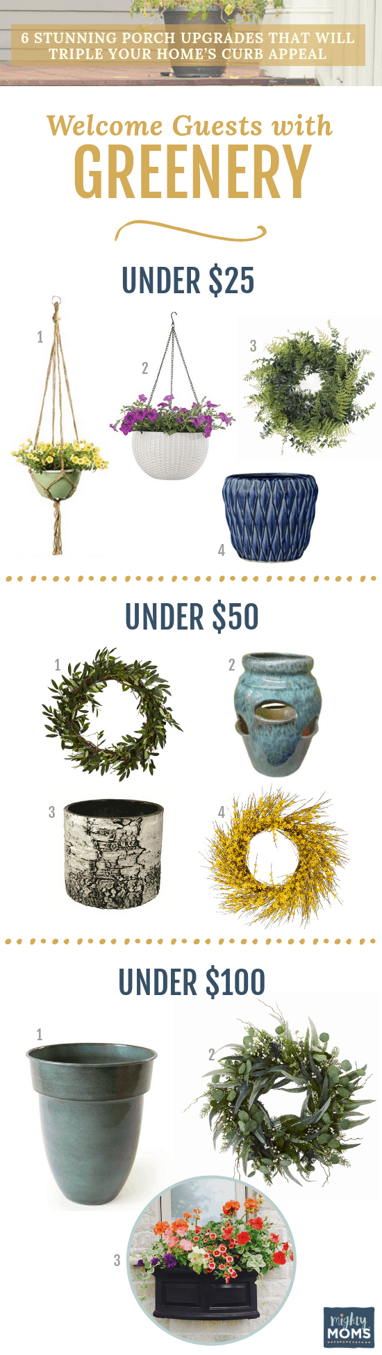 Increase Your Curb Appeal with Greenery - MightyMoms.club