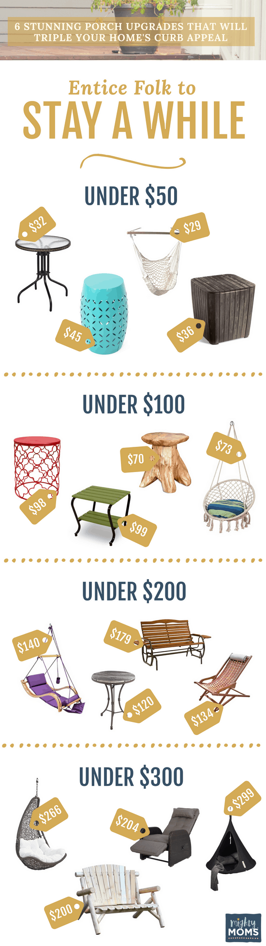 Increase Curb Appeal with Furnishings - MightyMoms.club
