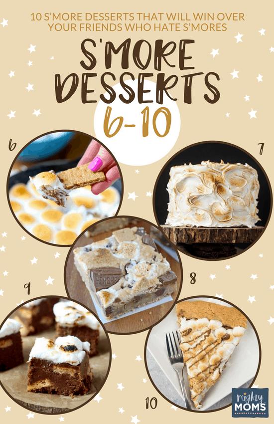 Delicious S'more Desserts (No. 6-10) - MightyMoms.club