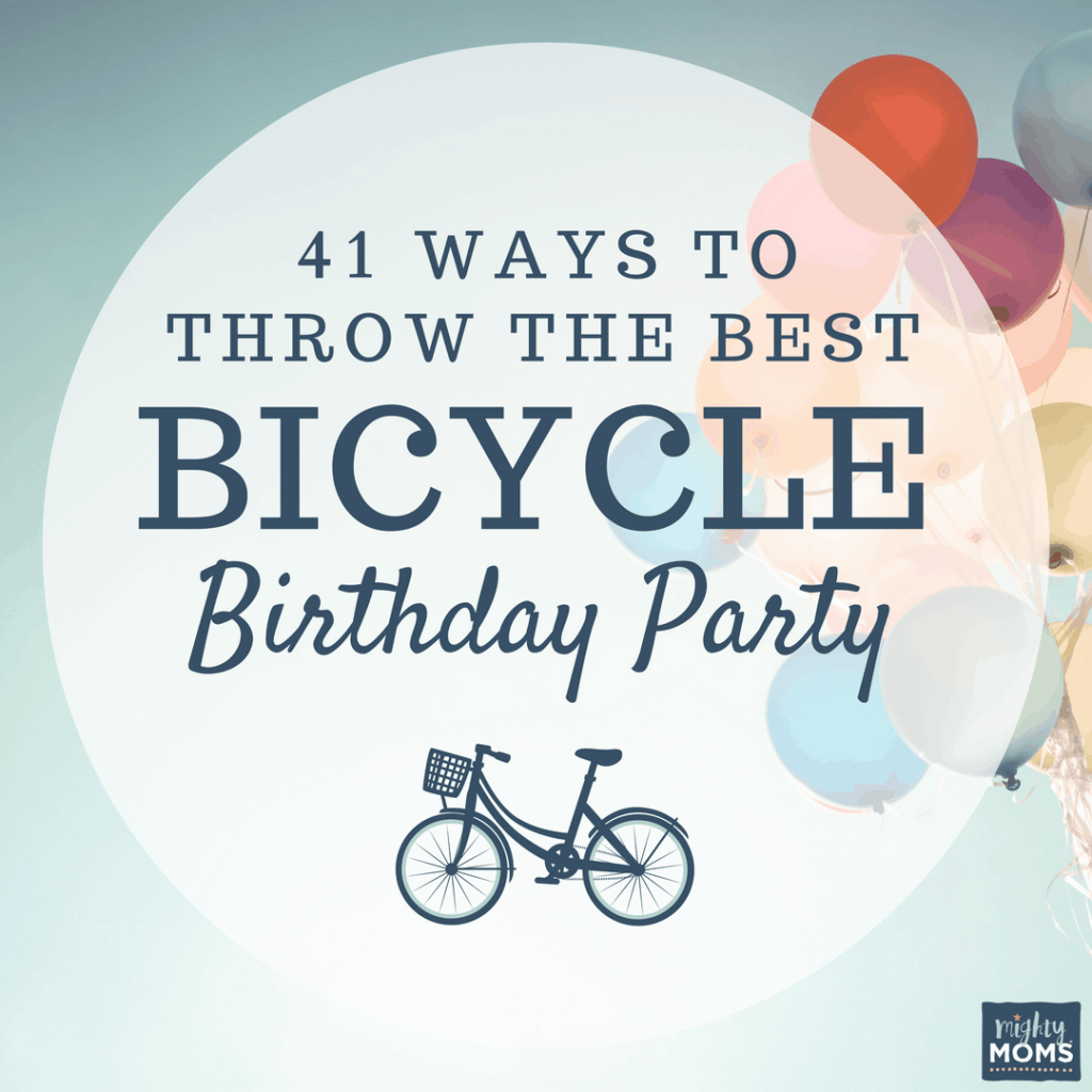 41 Ways to Throw the Best Bicycle Birthday Party