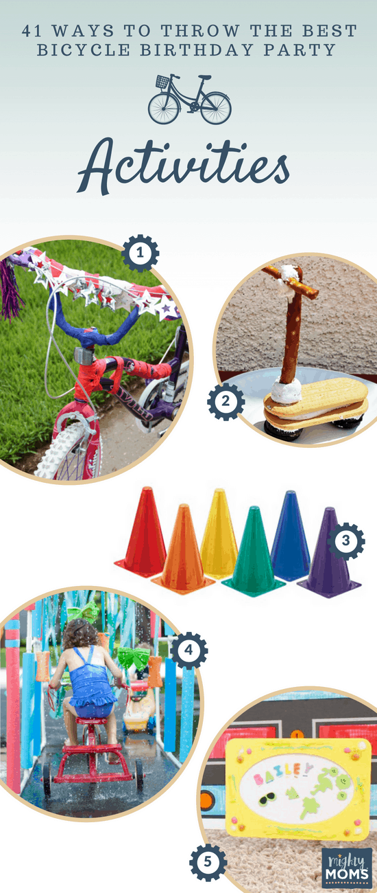 Bicycle Birthday Party Activities - MightyMoms.club