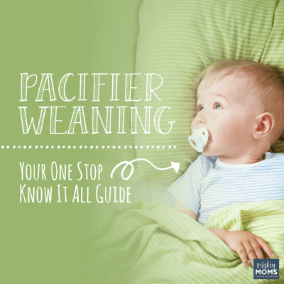 Pacifier Weaning: Your One Stop Know It All Guide
