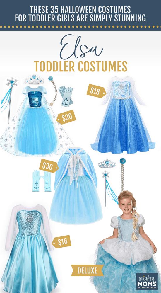 Elsa Halloween Toddler Costumes - MightyMoms.club