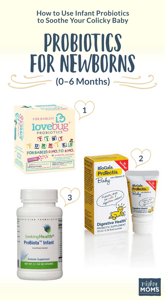 How To Use Infant Probiotics To Soothe Your Colicky Baby