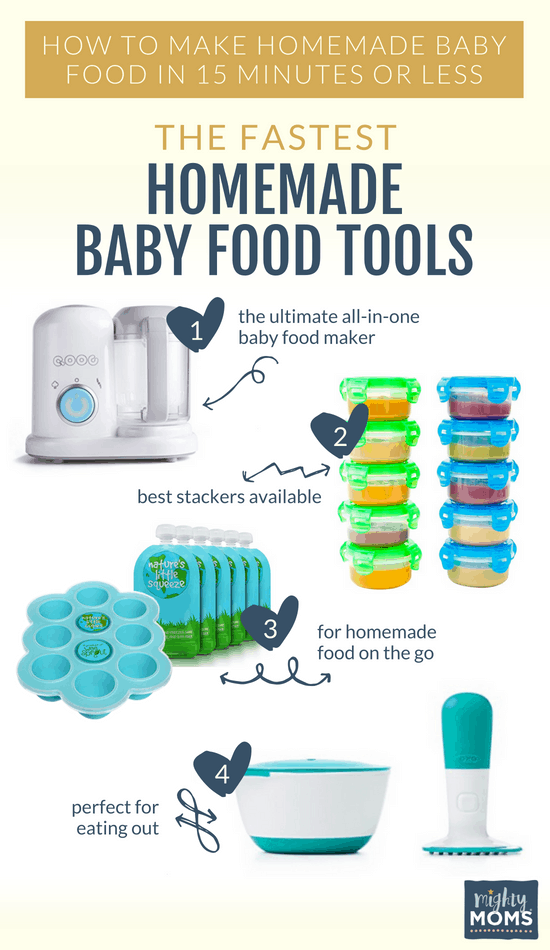 Awesome homemade baby food tools - MightyMoms.club
