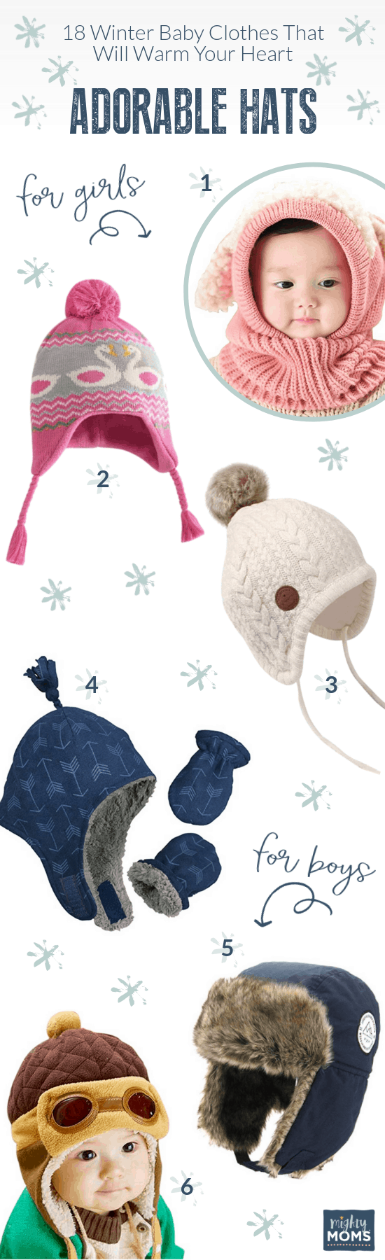 Baby Clothes for Winter: Cute Caps - MightyMoms.club