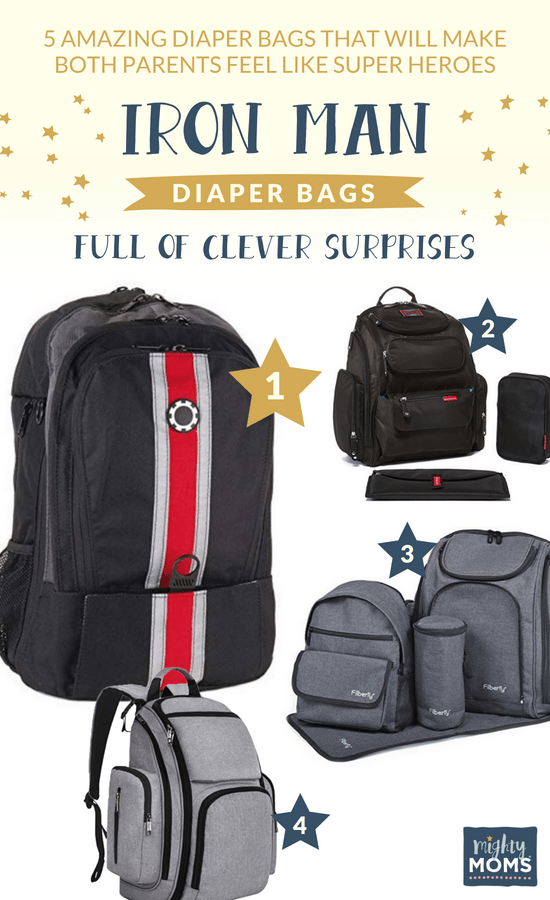 Iron Man diaper bags full of clever surprises - MightyMoms.club