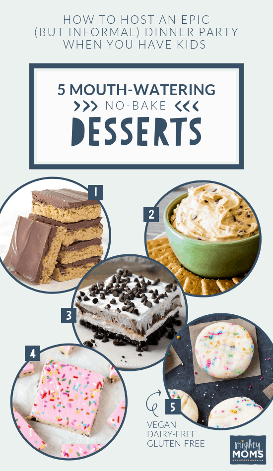No-Bake Desserts for a Family Dinner Party - MightyMoms.club