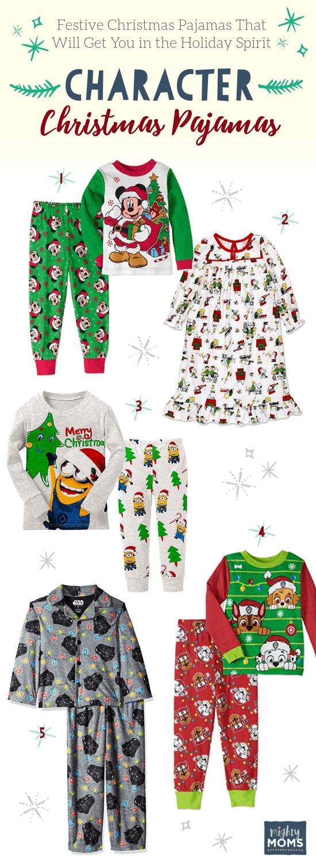 Character-Based Christmas PJ's - MightyMoms.club