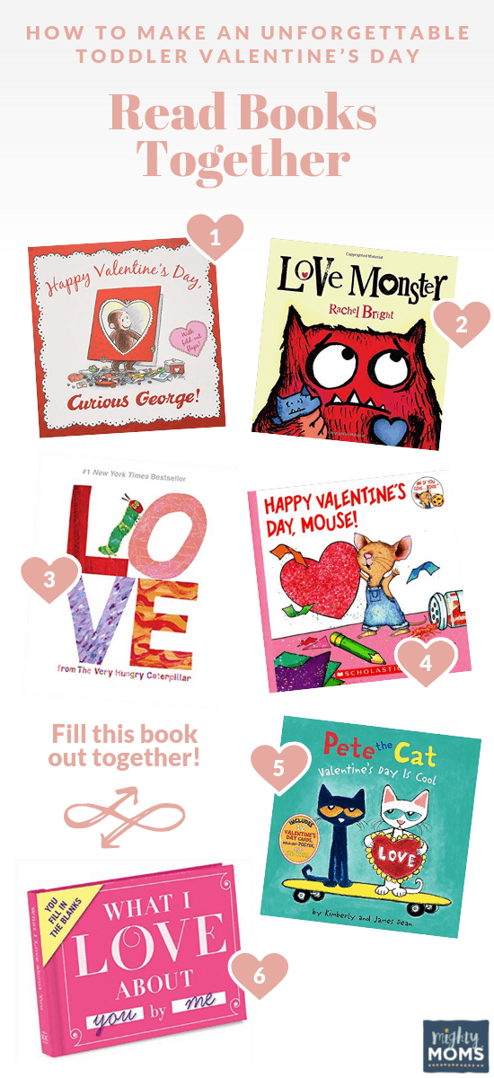 Toddlers Valentine's Day Ideas: Snuggle with a Book! MightyMoms.club