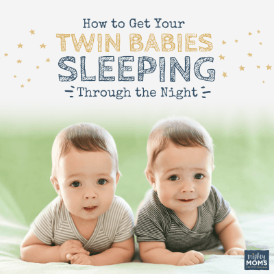 How to Get Your Twin Babies Sleeping Through the Night