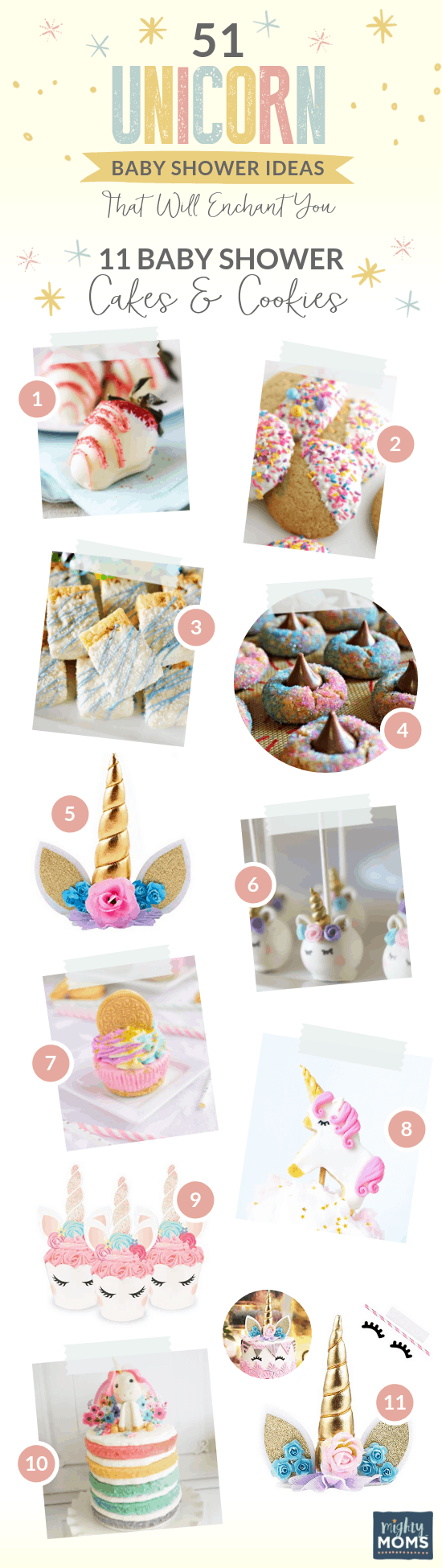 10 Bewitching Unicorn Baby Shower Bakes - MightyMoms.club