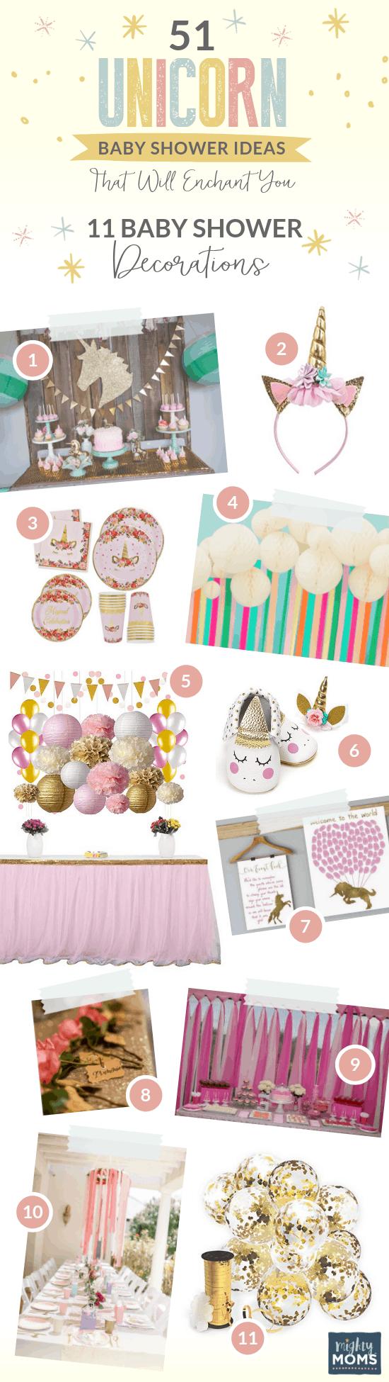 11 Fantastical Unicorn Baby Shower Decor Ideas - MightyMoms.club